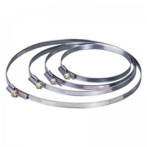 Ducting Ventilation Jubilee Worm Drive CIr Fixing Clip - 125mm 5 Inch