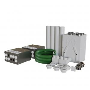 Blauberg Heat Recovery Ventilation Kit - Whole House Self Build Diy Kit System -...