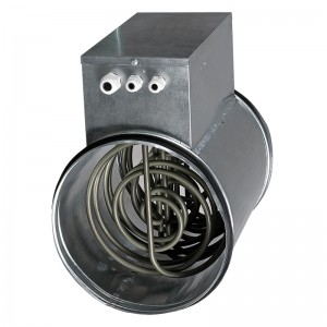 Blauberg Electric Heater Battery - 0.8 Kw - 125mm