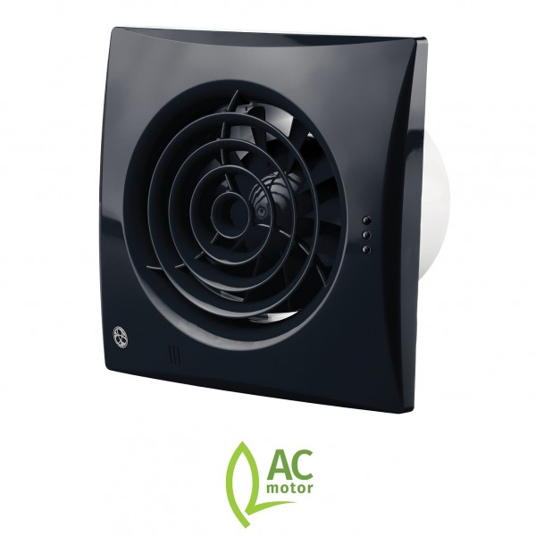 Astounding Blauberg Calm Low Noise Energy Efficient Bathroom Extractor Fan 100Mm Black Pull Cord Download Free Architecture Designs Scobabritishbridgeorg