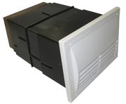 DOUBLE SIZED AIR BRICK BLACK HOLE VENTILATOR - 71,500 BTU/h