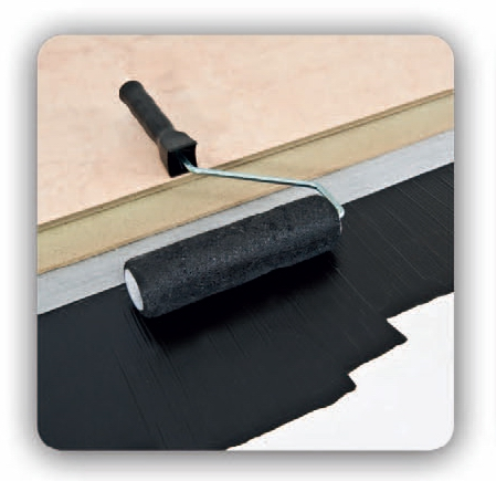 Damp Proof Paint - Roller Application