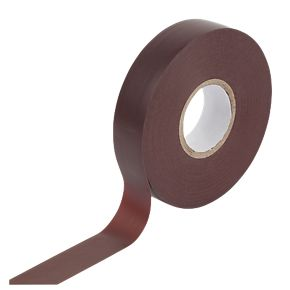 Pvc Insulating Tape - Brown - 19mm X 33M