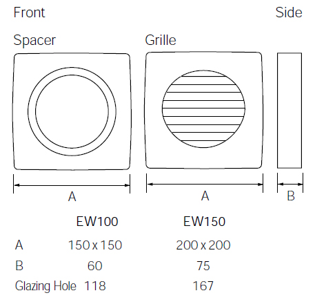 Greenwood Window Kit Dimensions
