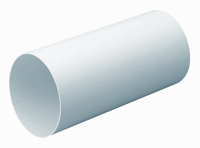 Inner Ducting Sleeve For 125mm Round Pipe 1M