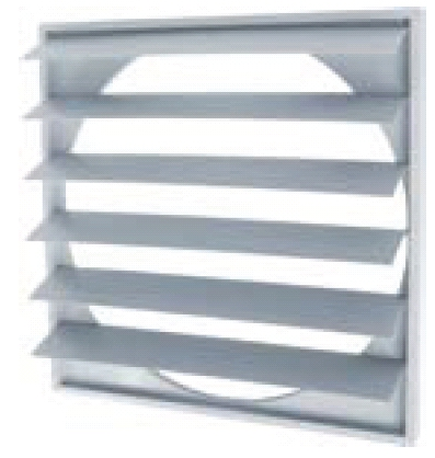 Large Gravity Shutter Grilles