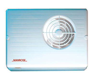 MANROSE CF200TP CENTRIFUGAL FAN - TIMER - 100MM