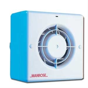 Manrose CF100T Centrifugal Fan - Timer - 100mm