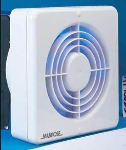 Manrose 150mm (6in) Bathroom & Toilet Fans