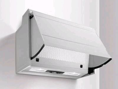 VENTAXIA NAPOLI INTEGRATED COOKER HOOD 600MM - WHITE - 120811
