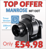 Manrose MF100T inline fan �54.98 inc Vat