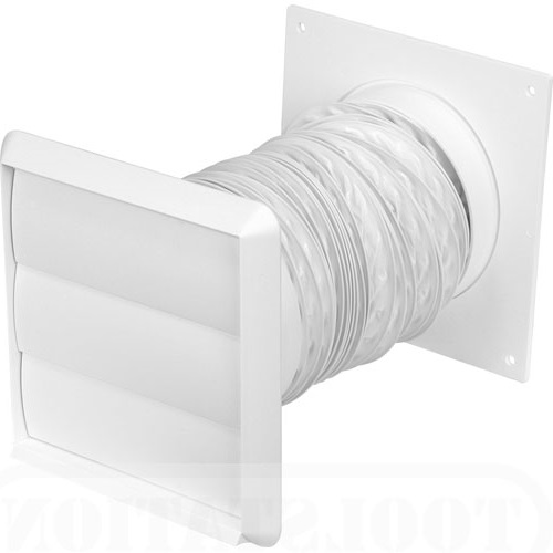 125MM 1 METRE FLEXIBLE KIT WITH GRAVITY OUTLET