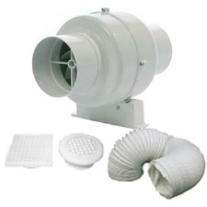 MANROSE SCF200S KIT - FAN CENTRIFUGAL SHOWER STD - 100MM 4IN