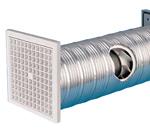 Manrose SF100W Fan - Slim Line Wall - 100mm