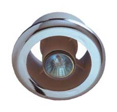 Manrose Sl-C Showerlite Chrome Shower Light Fitting 100mm / 4INCH