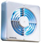 MANROSE XF150ALV WALL/CEILING FAN - AUTO SHUTTERS - 150MM